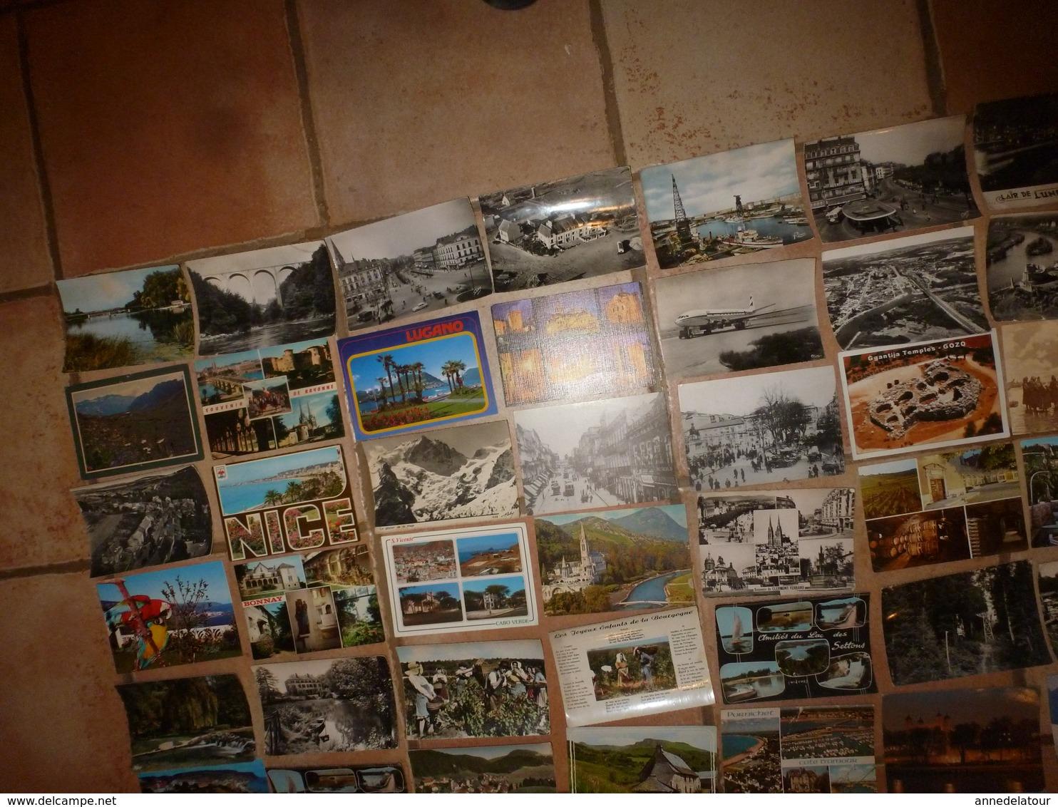 Lot Vrac  De  Plus De150 CARTES POSTALES Semi-modernes Ou Moderne Comprenant ; Scènes Diverses, Drouilles,etc) - Cartes Postales