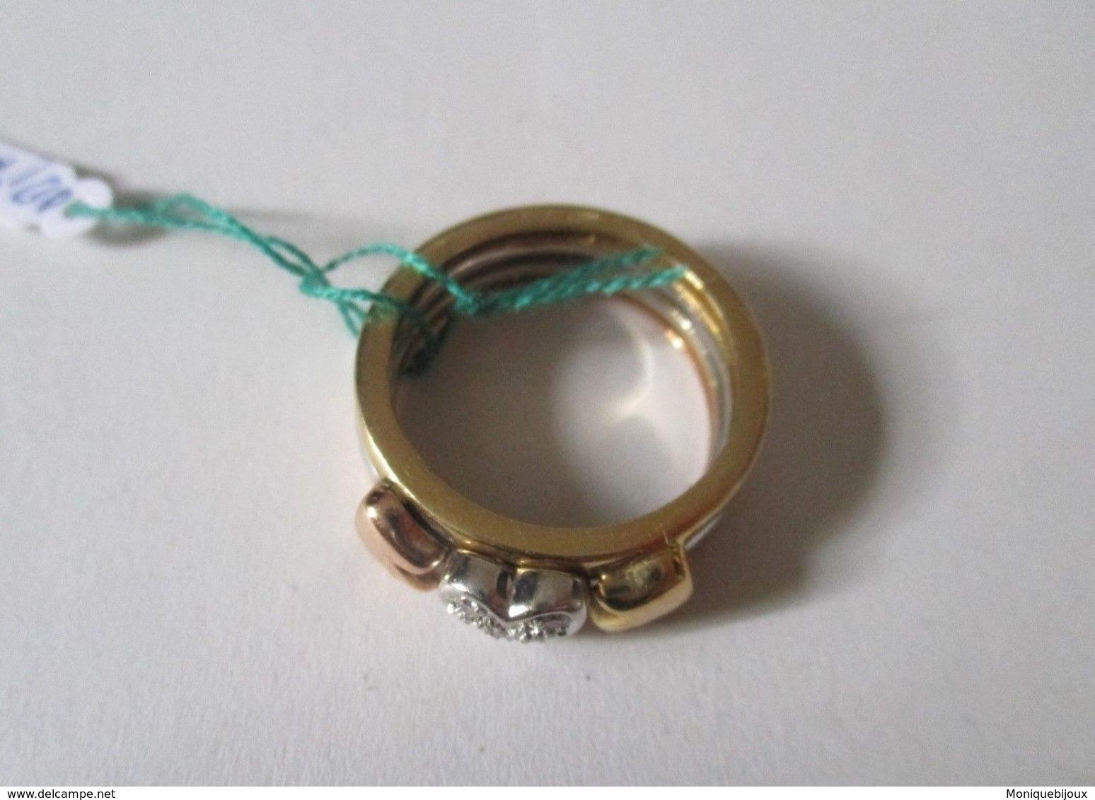 Anello Cuore In Oro E Diamanti - Anelli