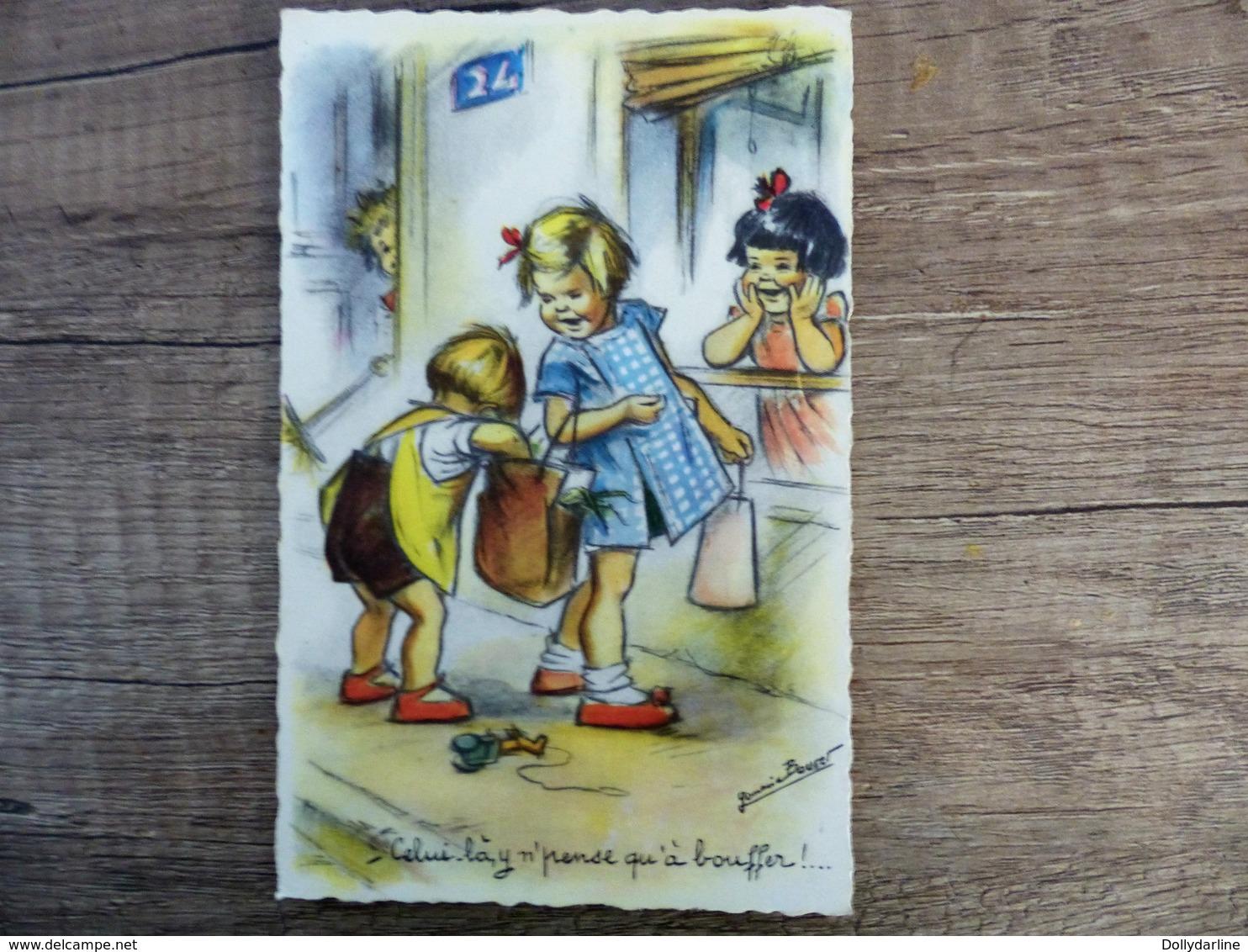 """Germaine BOURET  """"Celui-là Il Ne Pense Qu'à Bouffer""""  Enfants Courses - Bouret, Germaine"""