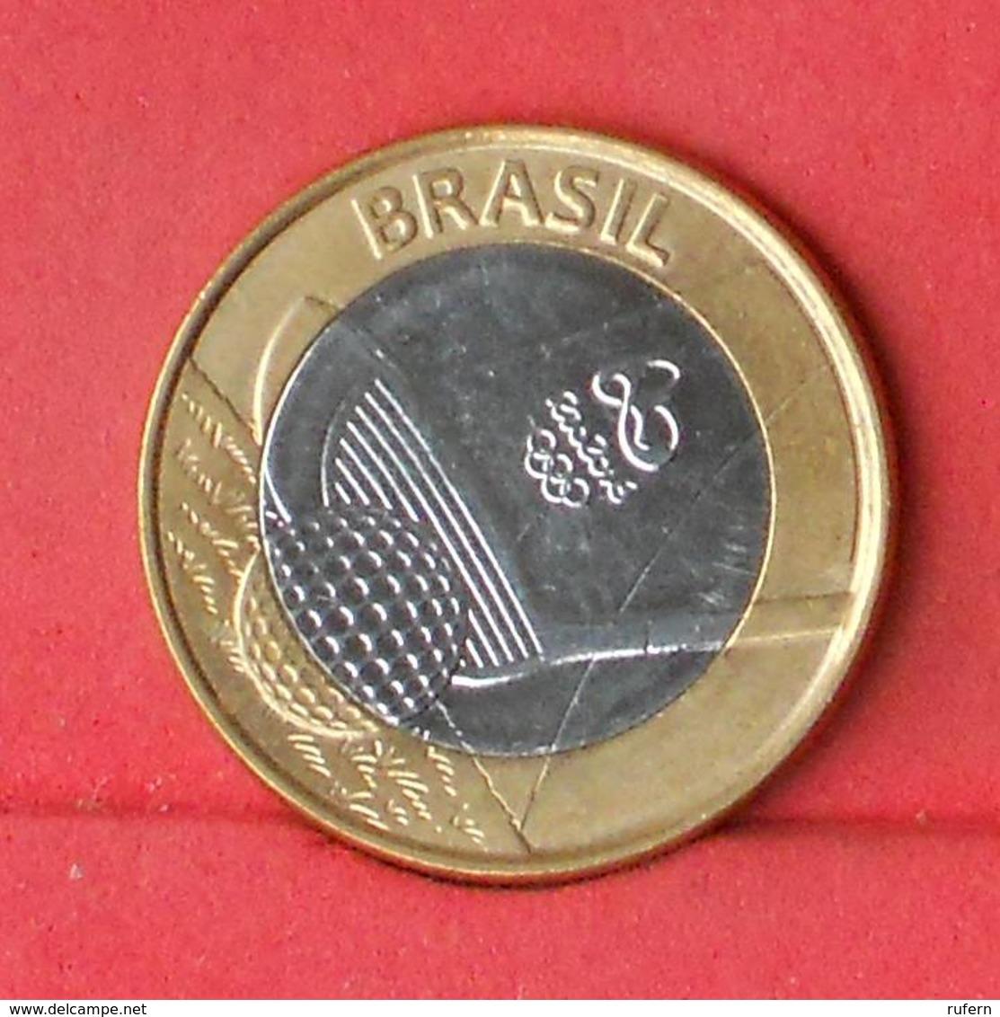 BRAZIL 1 REAL 2014 - RIO 2016     - (Nº26902) - Brésil