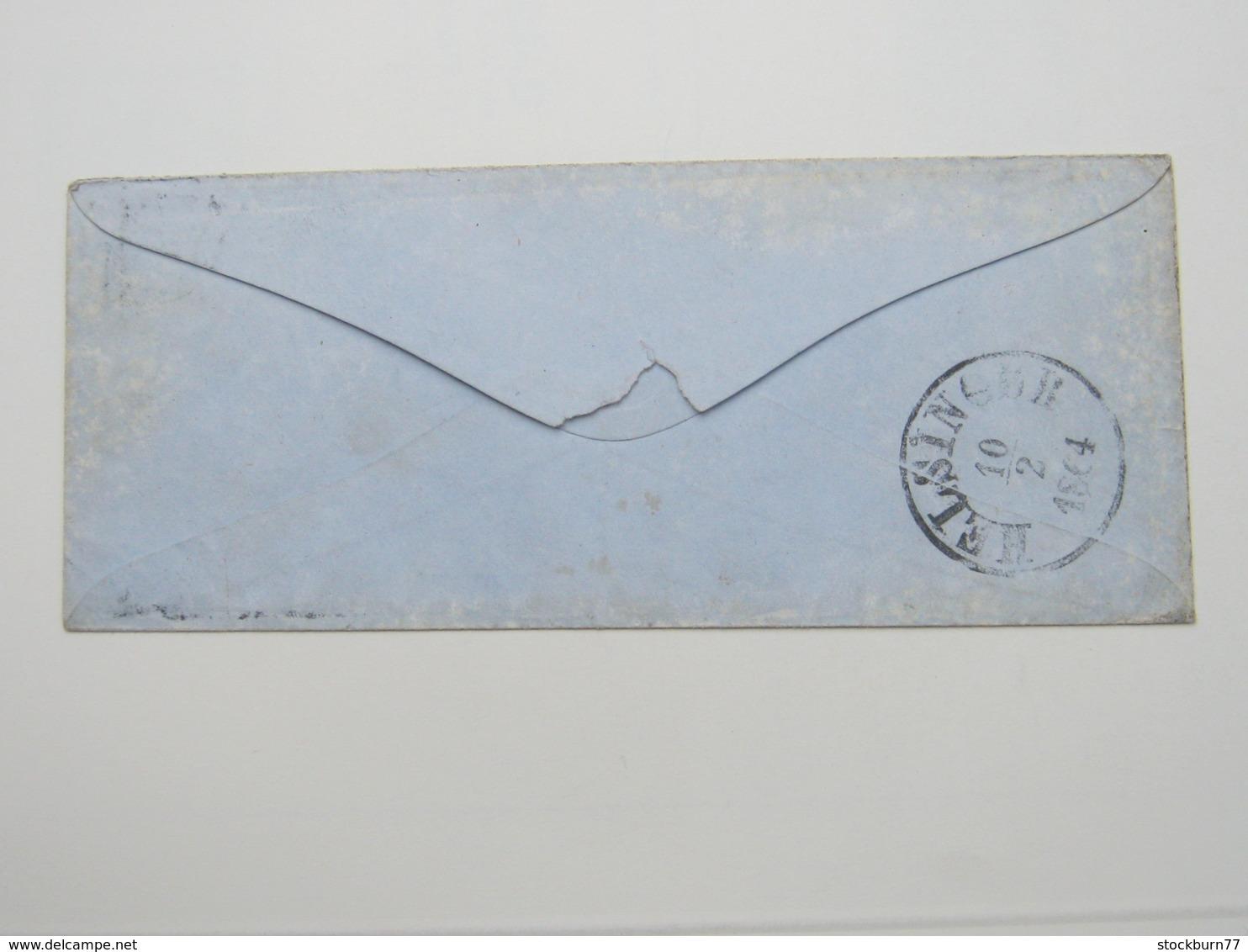 1864 , Brief Aus Saxkjöbing - Briefe U. Dokumente