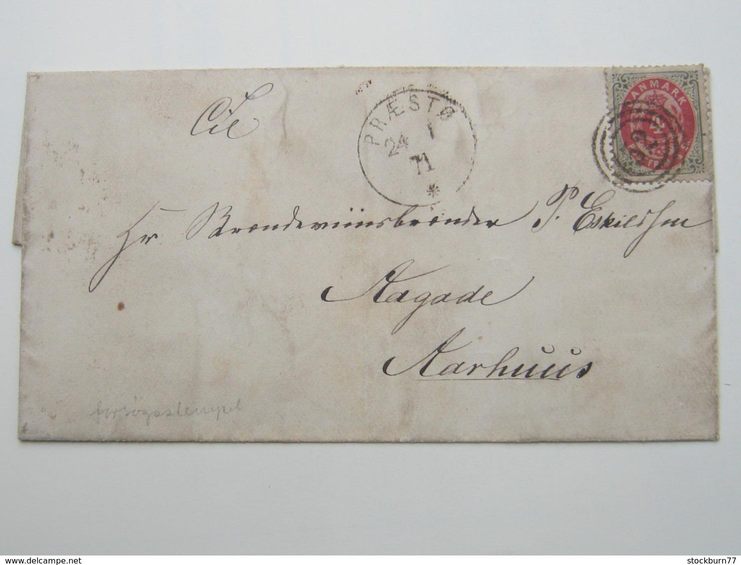 1871 , PRAESTO , Brief - Briefe U. Dokumente