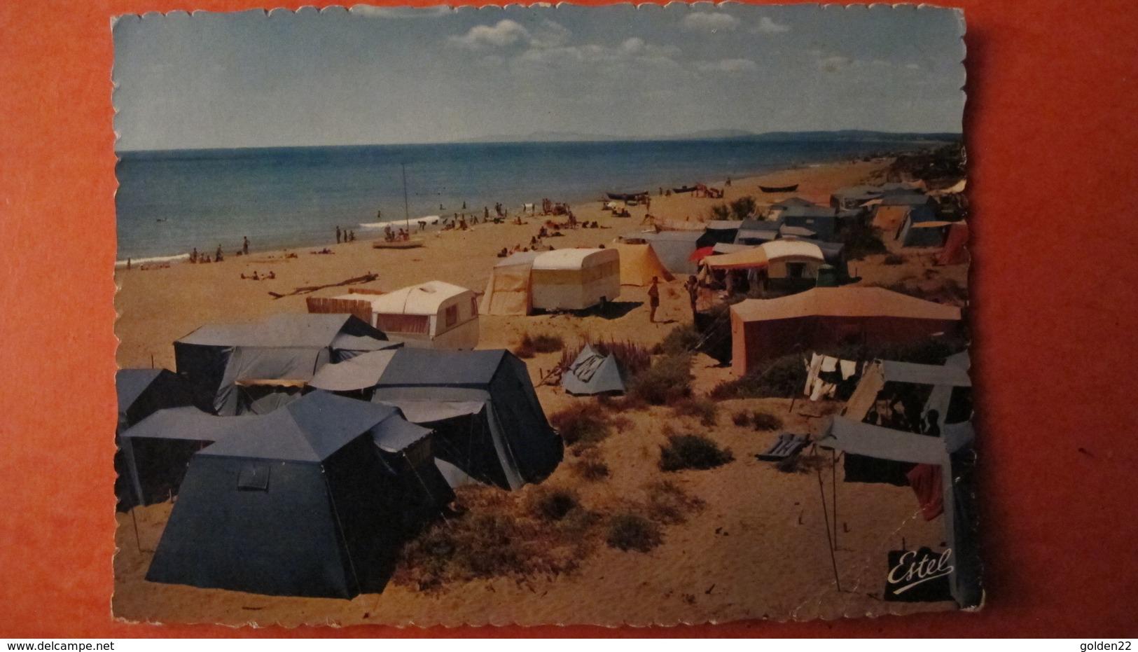 VIAS. Le Camping Sur La Plage. - France