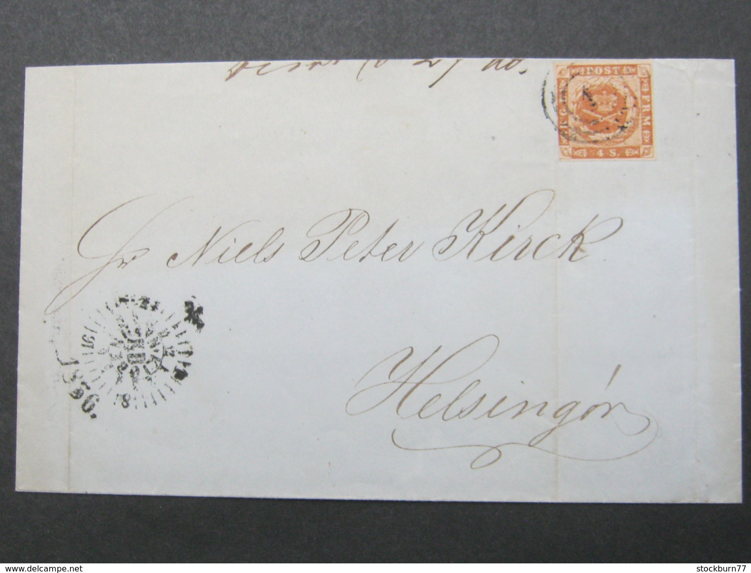 1856 , Brief Aus Kopenhagen - Briefe U. Dokumente
