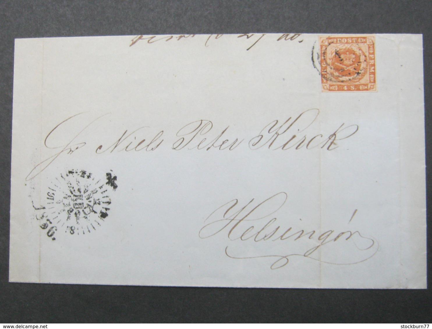 1856 , Brief Aus Kopenhagen - 1851-63 (Frederik VII)