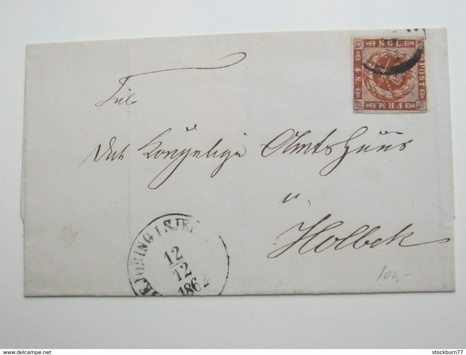 Brief  Mit Nummernstempel - Briefe U. Dokumente