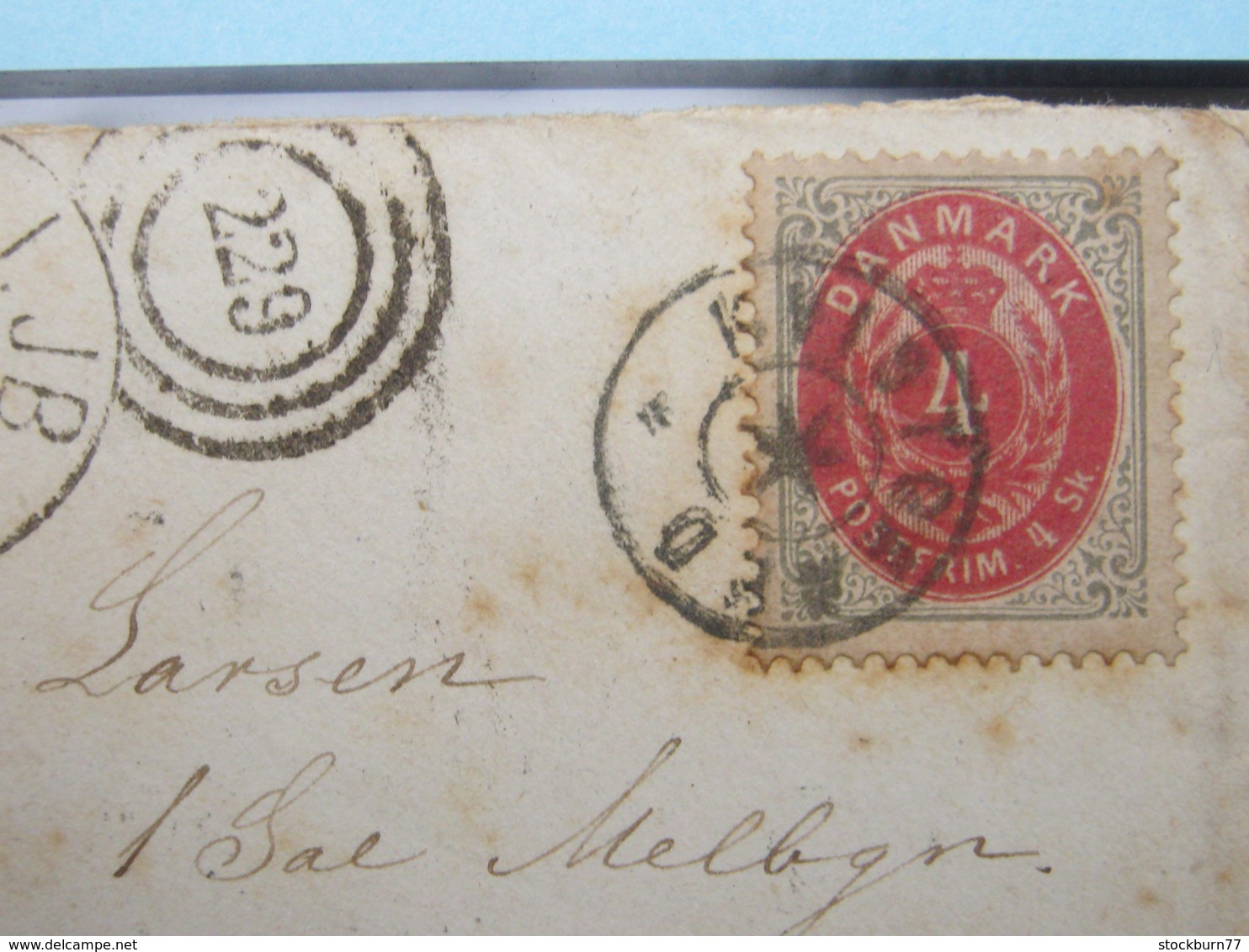 1872 , Brief  Mit  Stempel Aus KVISTGAARD - 1851-63 (Frederik VII)