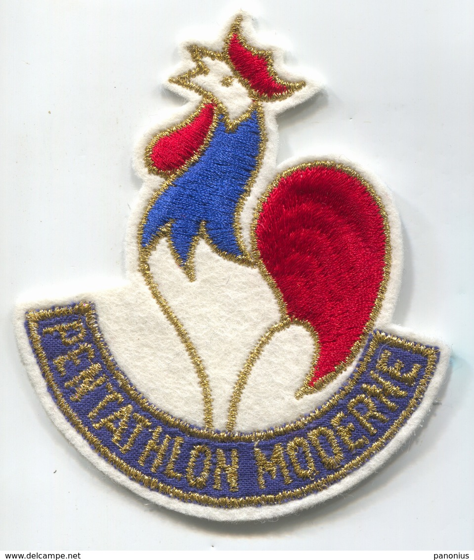 PENTATHLON MODERNE - France Olympic Committee, Sport, Patch, D 95 X 80 Mm - Patches