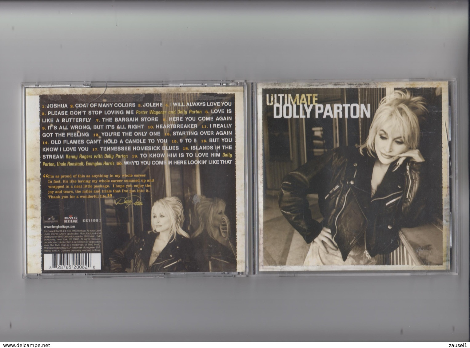 Ultimate Dolly Parton -  Original CD - Country & Folk