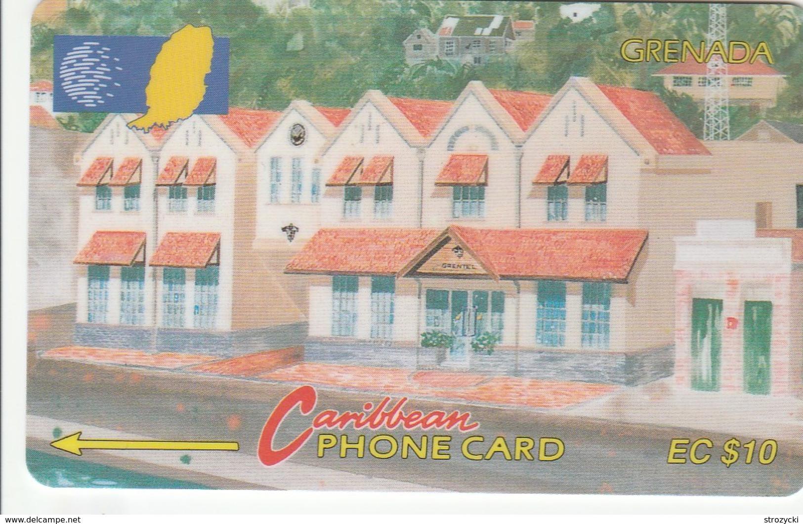 Grenada - Grentel Building - 148CGRE - Grenada