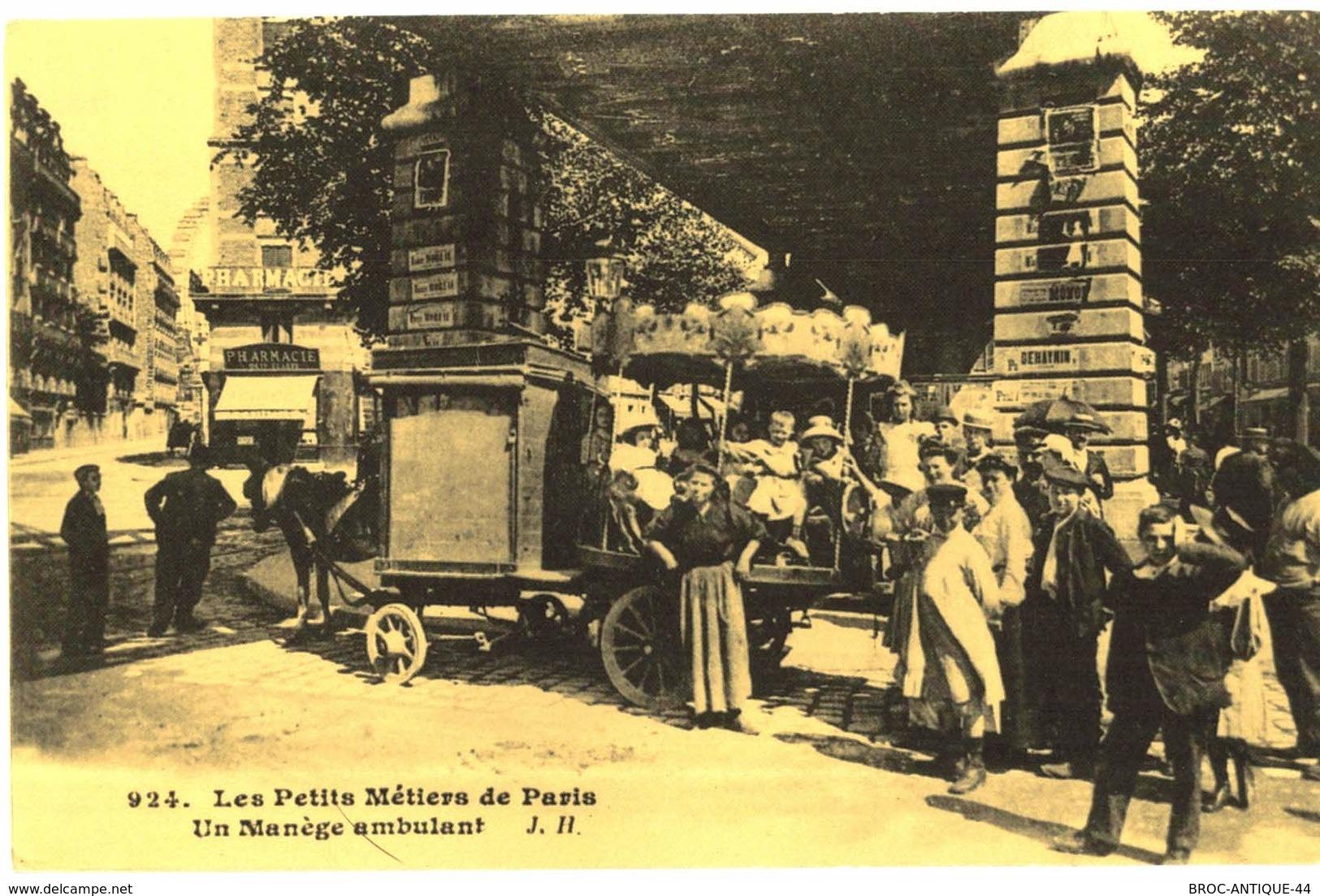 LOT N°572 - LOT DE 100 CARTES DE PARIS ET SES PETITS METIERS - ATTENTION REPRODUCTION - Frankreich
