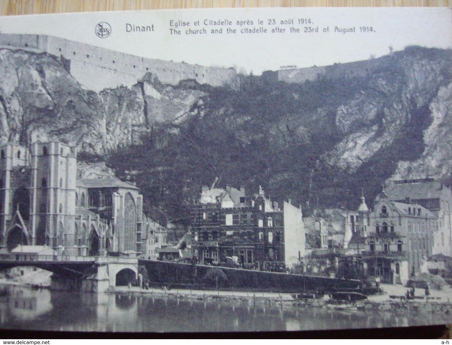 3 Carnets Cartes Postales Historique . 2 Carnets Photos Guerre 14 - 18 + Verdun Ville - Belgique