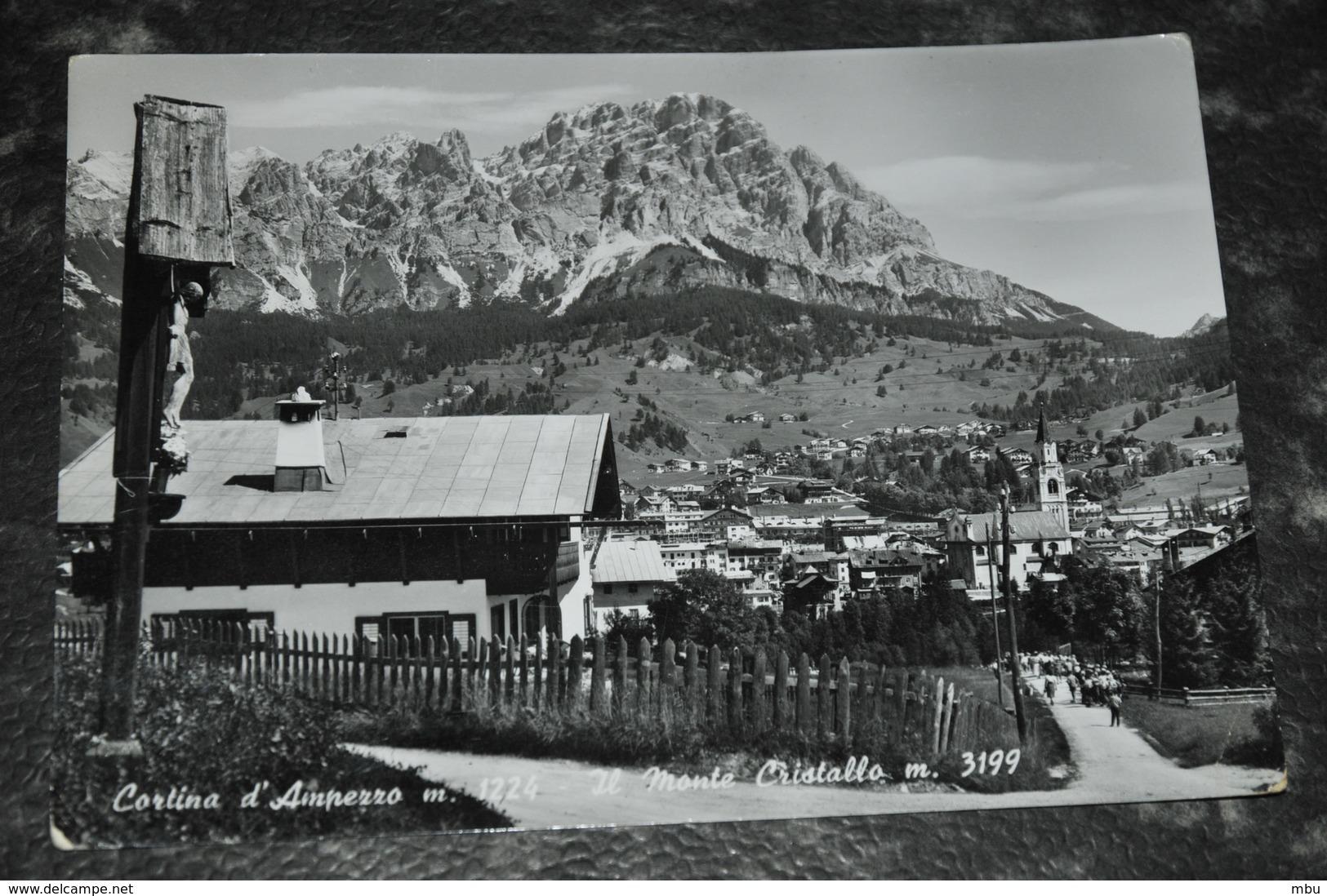 4372   CORTINA D'AMPEZZO, IL MONTE CRISTALLO - Belluno