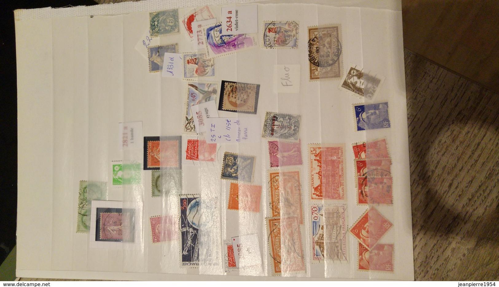 Anciens Timbres Dfrançais - Stamps
