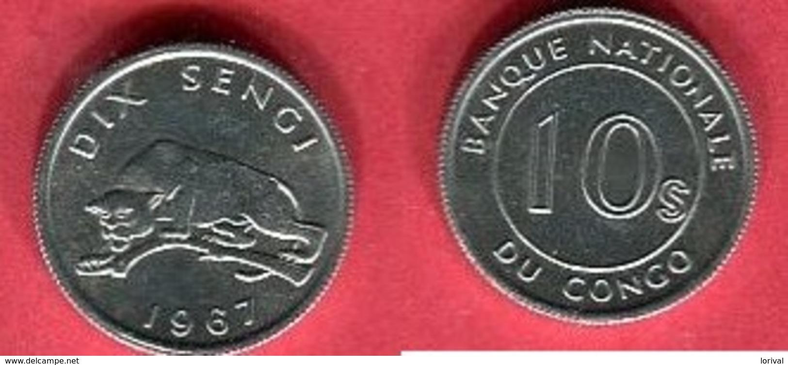 10 SENGI   ( KM 2) TTB 1 - Zaire (1971-97)