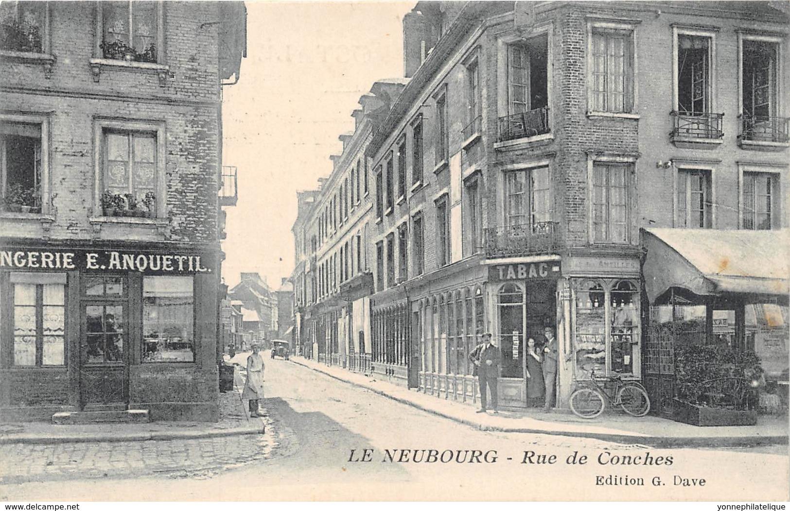 27 - Eure / 10012 - Le Neubourg - Rue De Conches - France