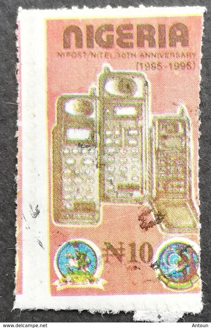 Nigeria  1995 Nipost / Nitel  USED  POSTAL COUNTERFEIT - Nigeria (1961-...)