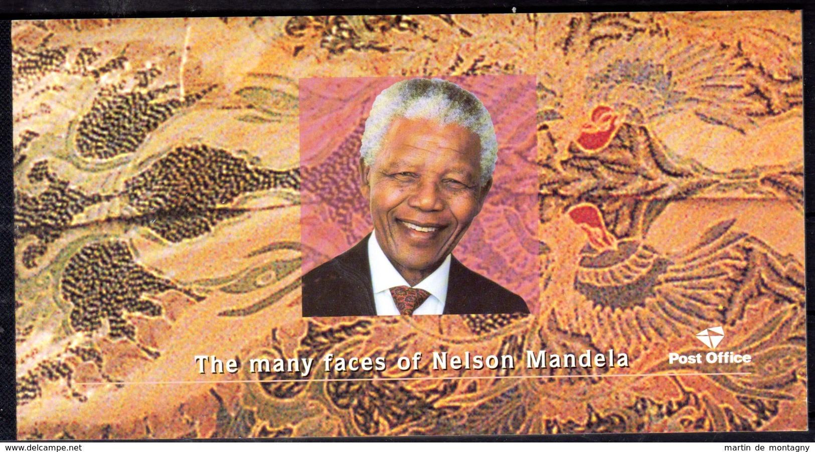 2001; Les Nombreux Visages De Nelson Mandela, Carnet Michel 1430 - 1439; Neuf **, Lot 50797 - Carnets