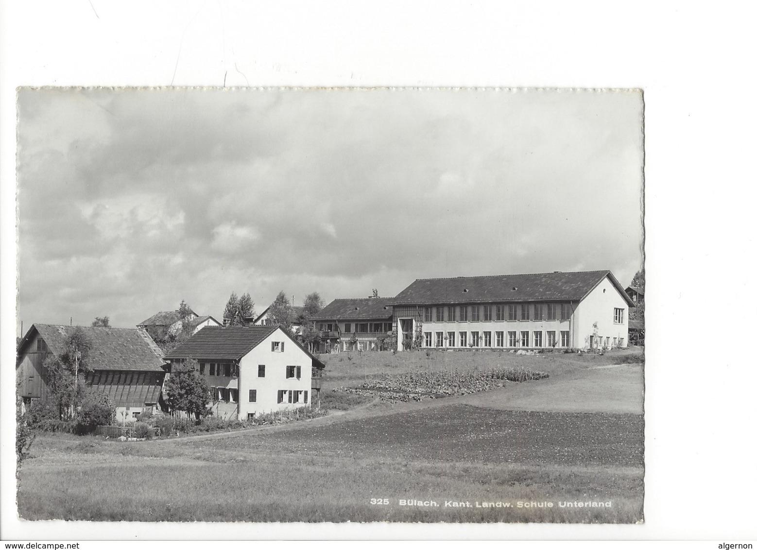 21184   - Bülach Kant. Landw. Schule Unteriand( Format 10X15) - ZH Zurich