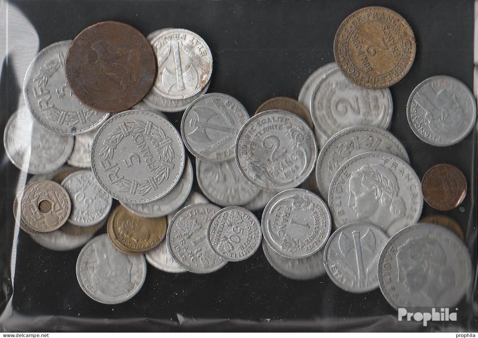 Frankreich 100 Gramm Münzkiloware  Bis 1958 (nur Alte Francs) - Kilowaar - Munten