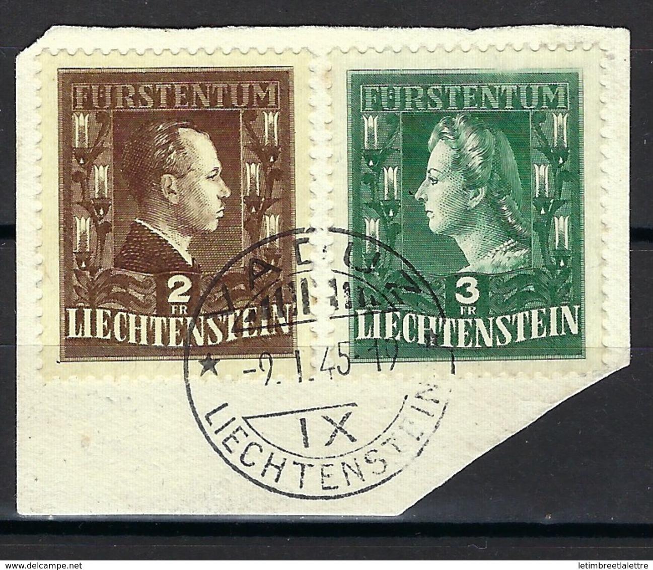 Liechtenstein, N° 266 Et 267 Oblitéré TB - Liechtenstein