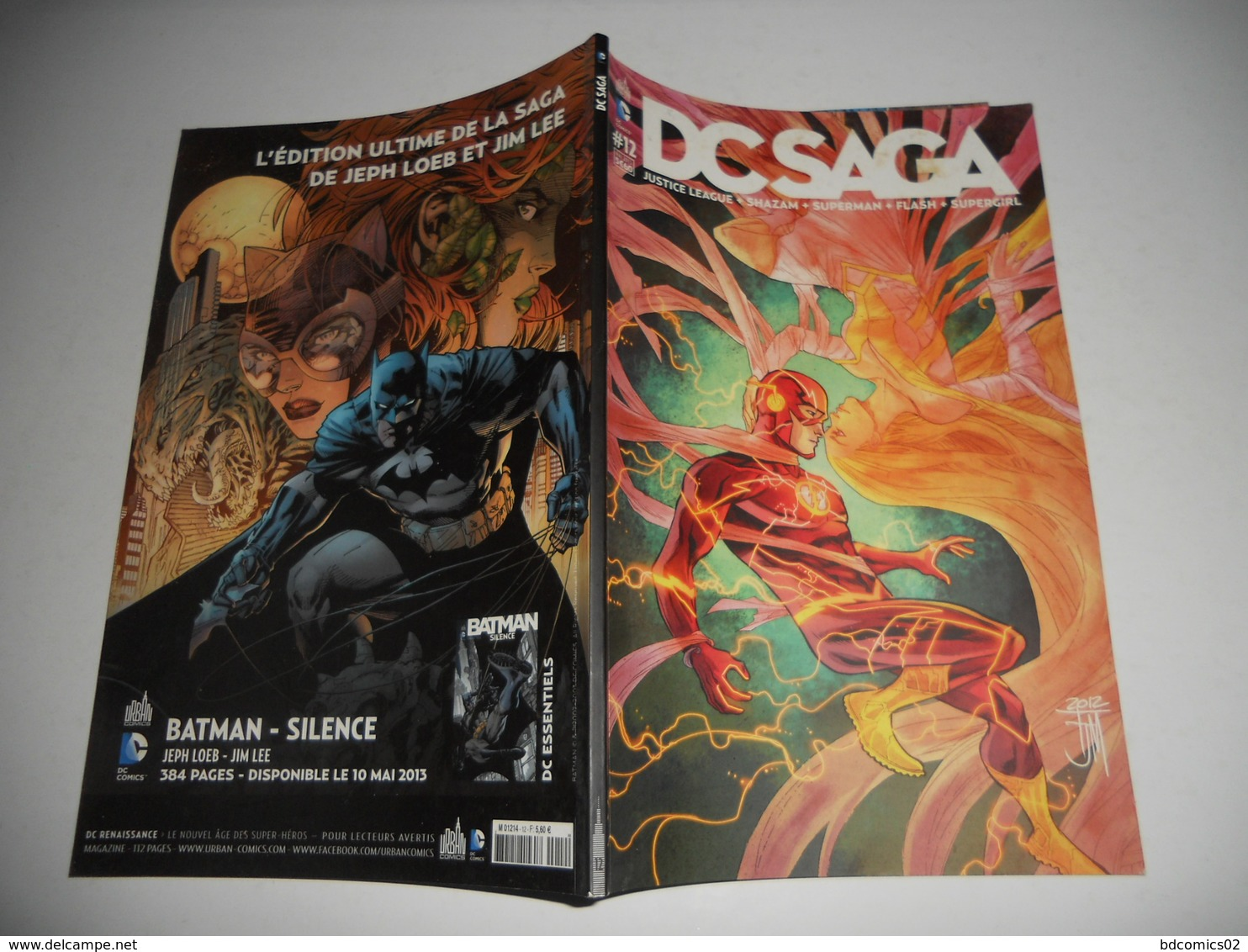 DC Saga N° 12 ( Justice League + Shazam + Superman + Flash + Supergirl )  DC URBAN TBE - Flash