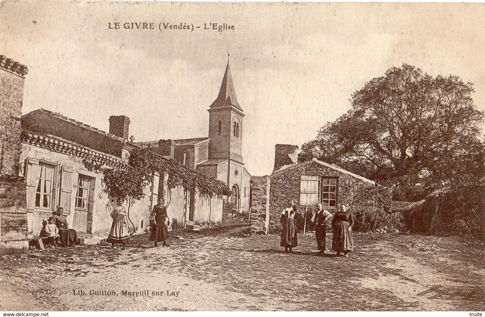 LE GIVRE L'EGLISE - France
