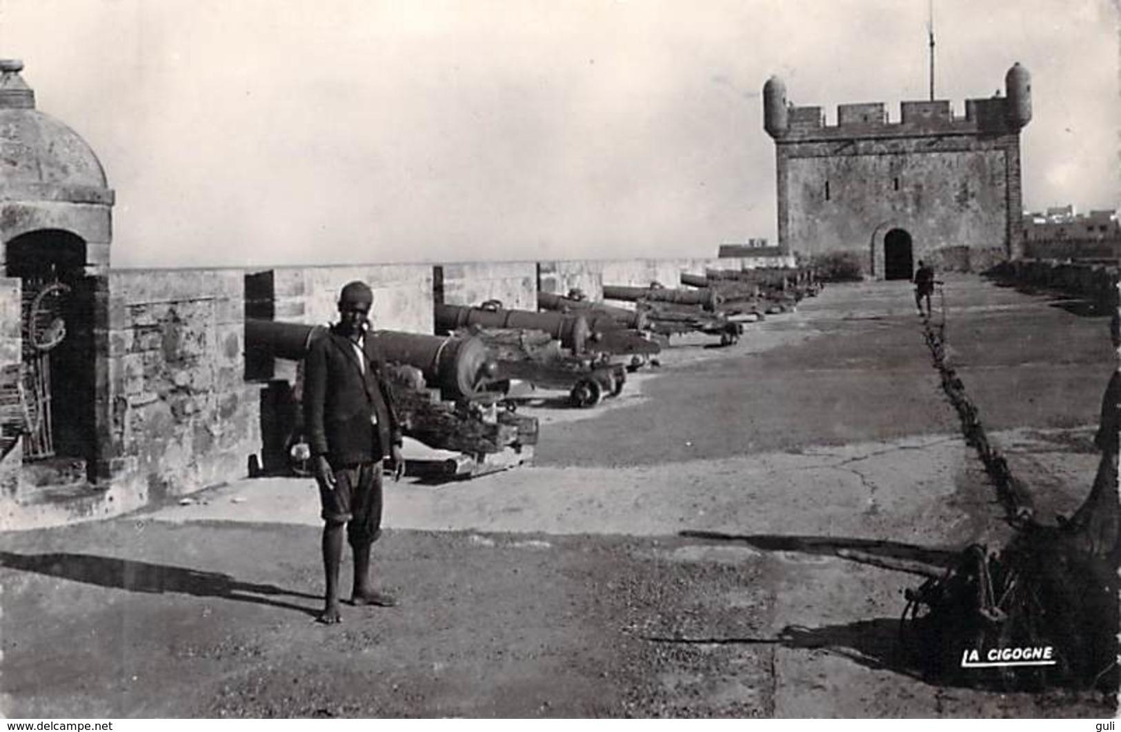 Afrique MAROC (Essaouira) MOGADOR La Scala ( Remparts Canon Canons) *PRIX FIXE - Maroc