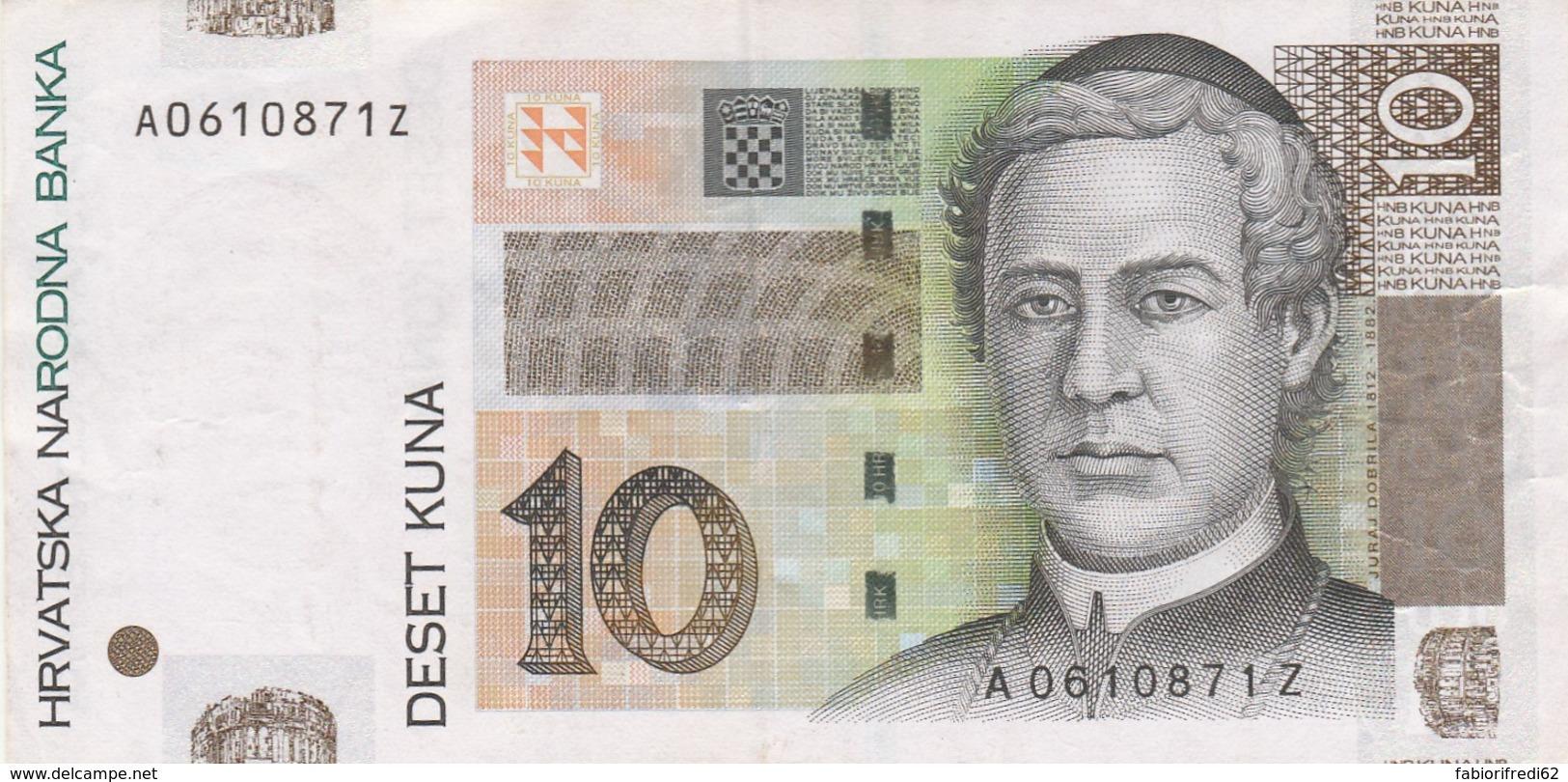 BANCONOTA CROAZIA XF (LY552 - Croatia