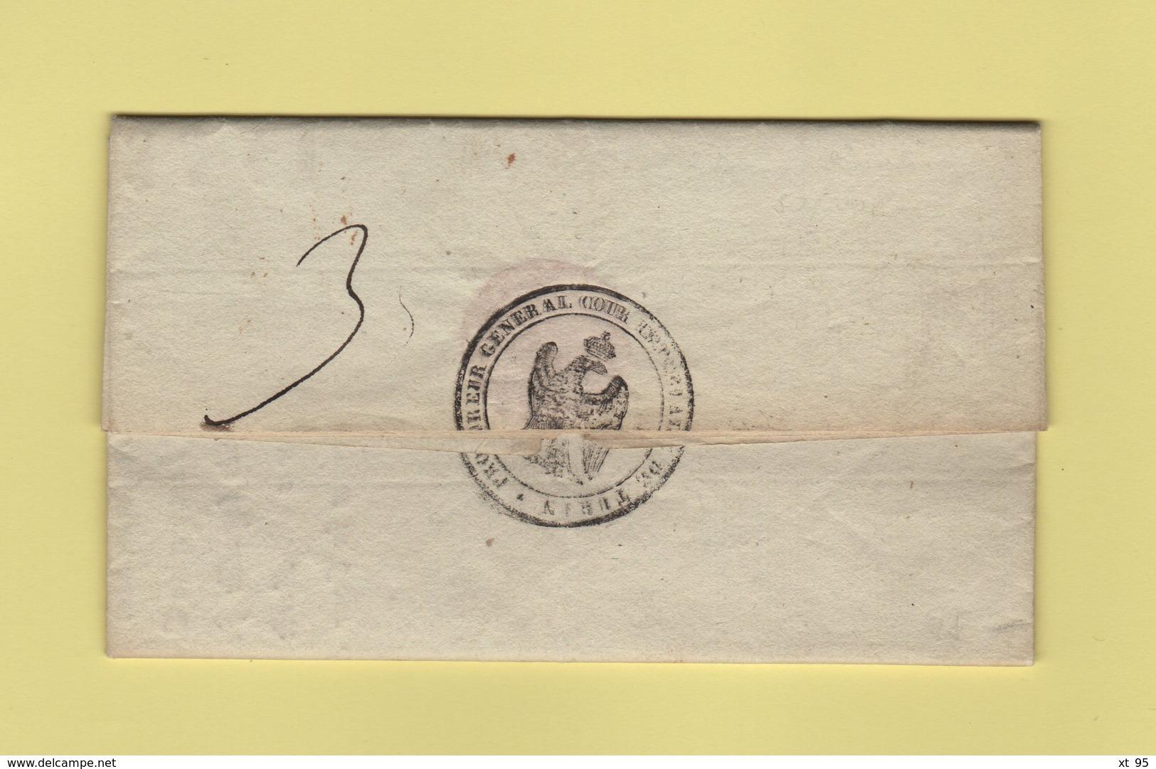 Turin - 104 - 1812 - Le Procureur General De La Cour Imperiale De Turin - Franchise - Departement Conquis Du Pô - Italie