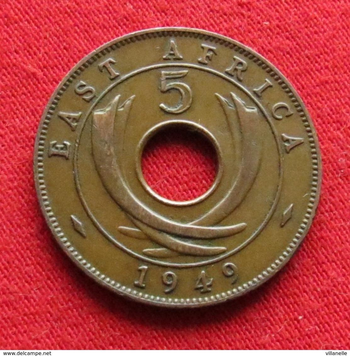 East Africa 5 Cents 1949  Africa Oriental Afrique Afrika Wºº - Autres – Afrique