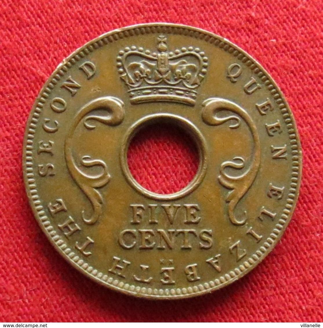 East Africa 5 Cents 1957 KN  Africa Oriental Afrique Afrika Wºº - Autres – Afrique