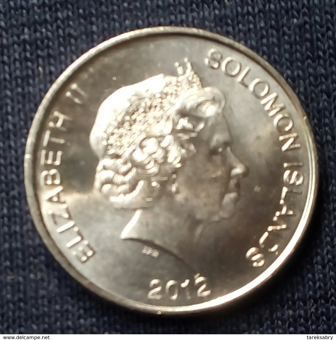 Salomon - Elisabeth II, 10 Cents - 2012 - KM 235 - Agouz - Salomonen