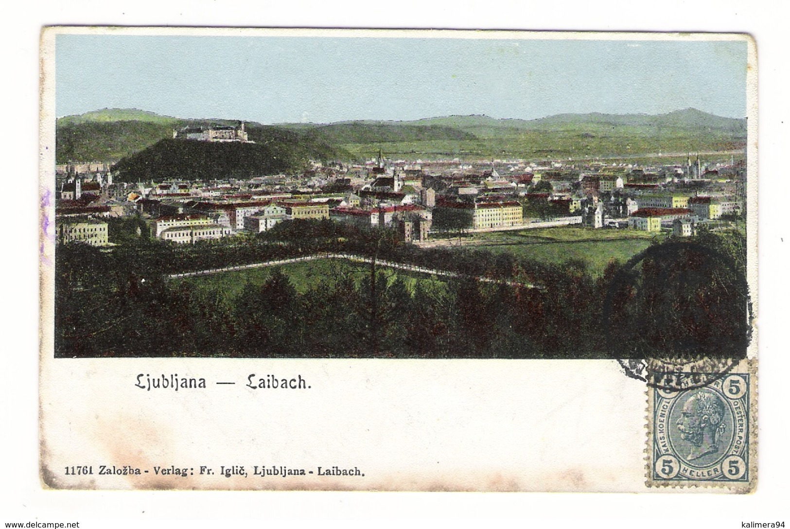 SLOVENIE  /  LJUBLJANA  /  LAIBACH - Slovénie