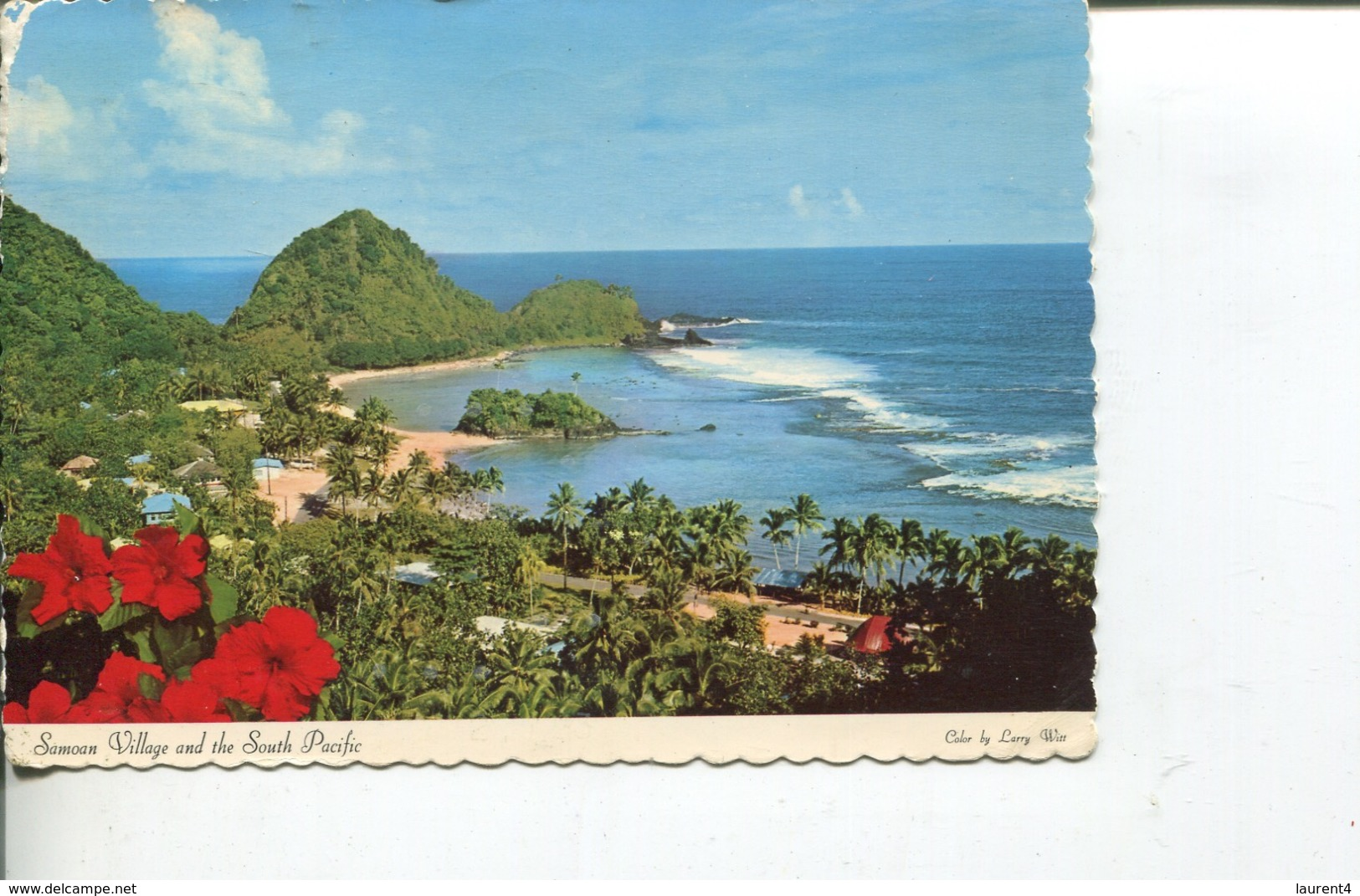 (6666) Samoa Islands - Picturesque Village - Samoa Americana