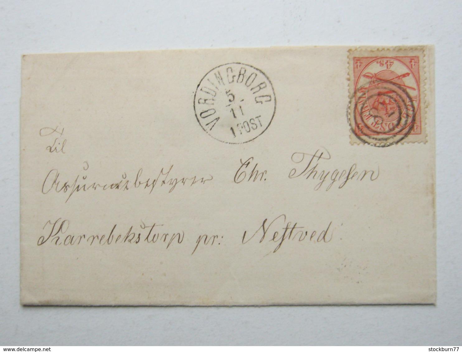 VORDINGBORG , Klarer Stempel Auf Brief - Briefe U. Dokumente