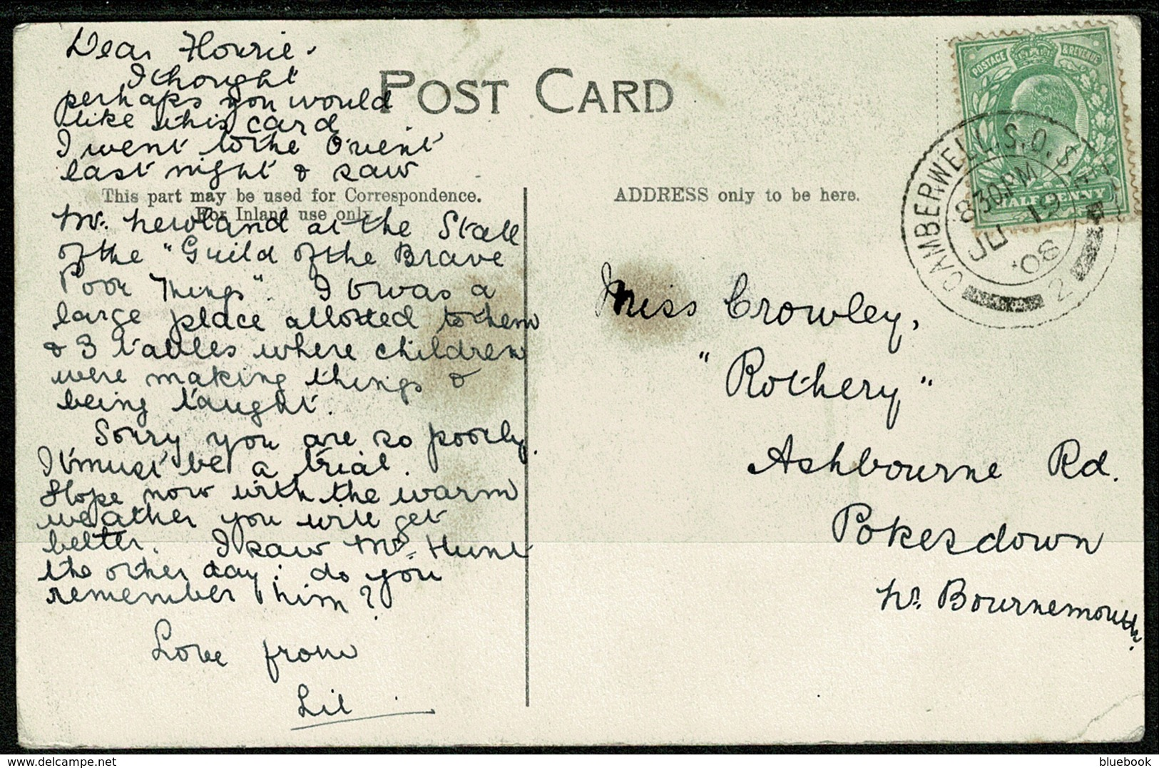 Ref 1248 - 1908 Multiview Postcard - Little People At Claremont - Pentonville London - London Suburbs