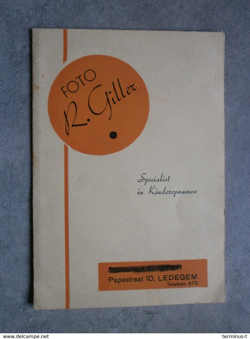 Ledegem: Oudleerlingen 1951-1954 Aan Meester Schotte. - Personnes Identifiées