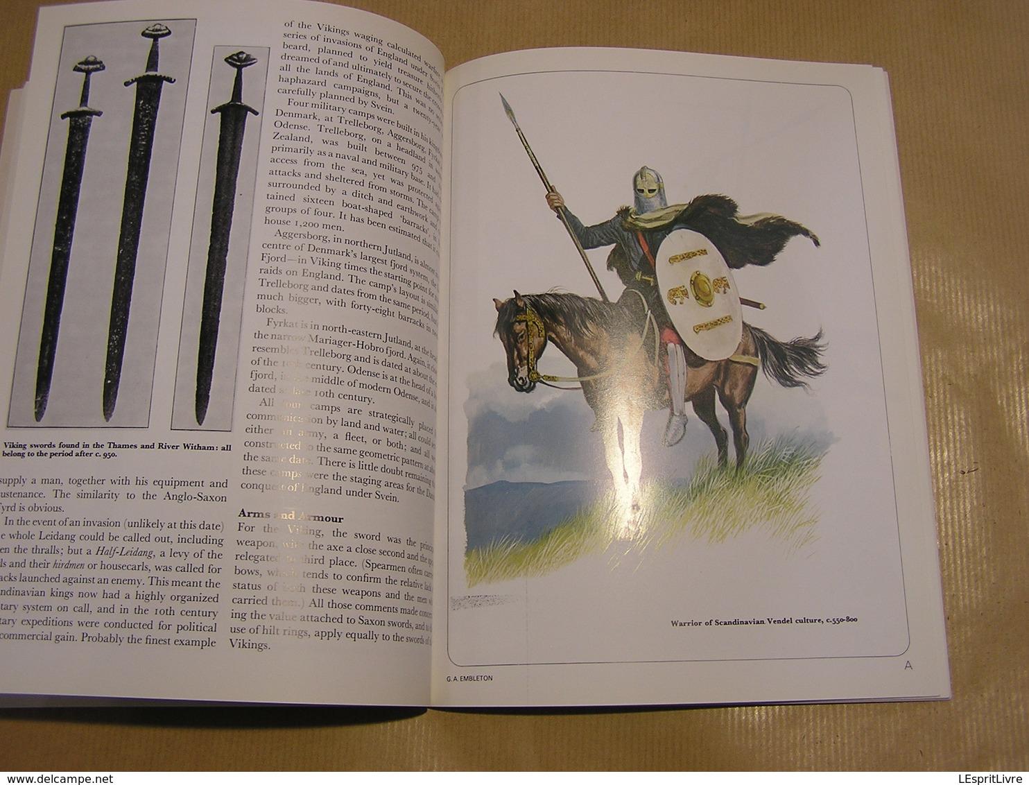 SAXON VIKING AND NORMAN Men At Arms Séries Vikings Guerriers Angleterre Scandinavie Uniformes Armes - Histoire
