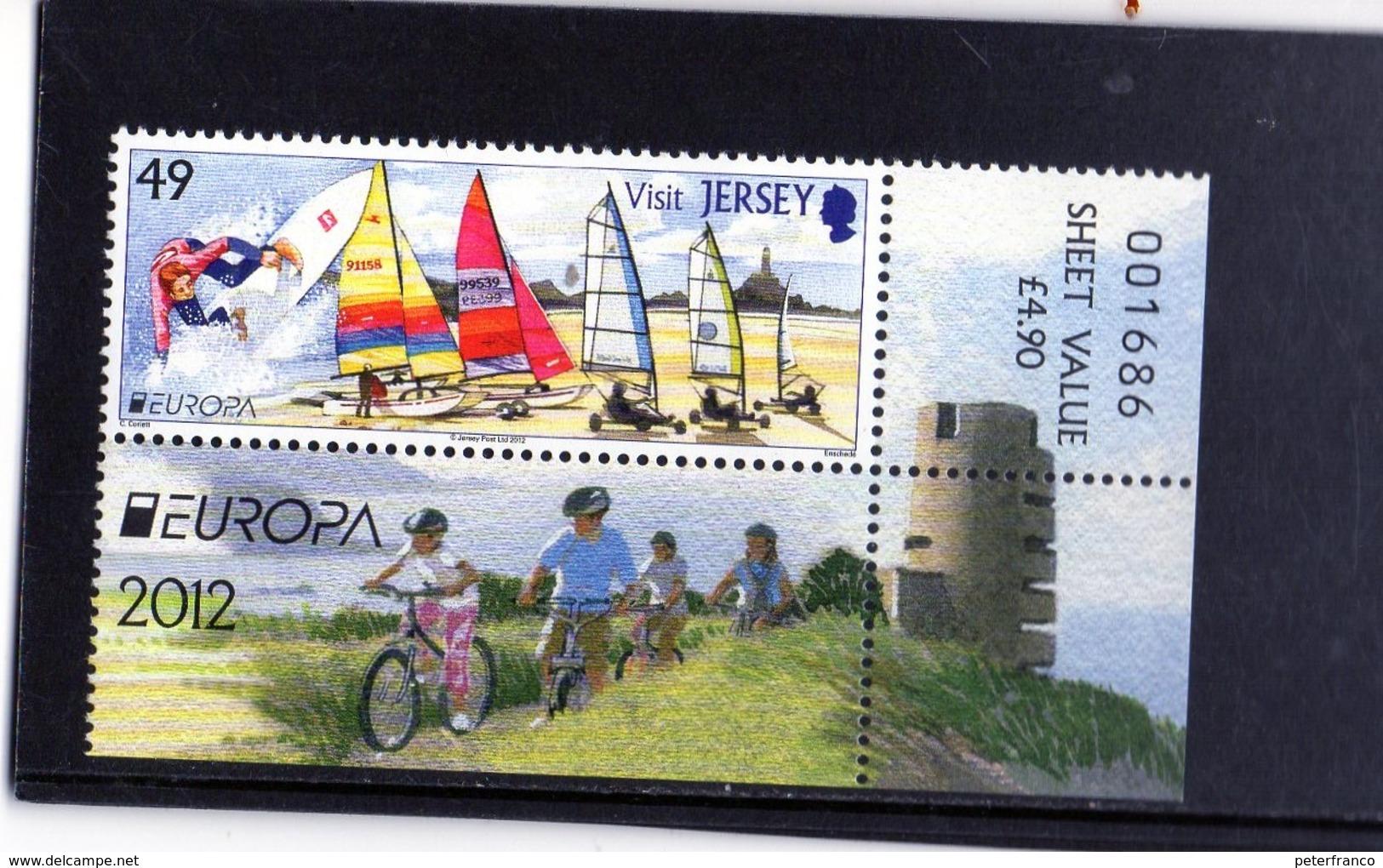 2012 Jersey - Europa - Turismo - Ciclismo
