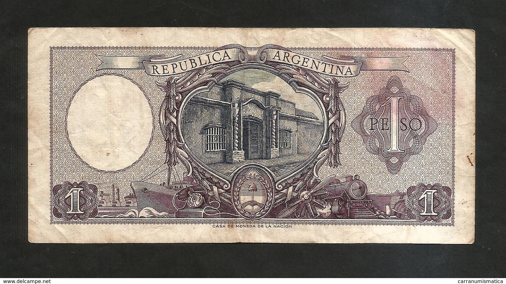 ARGENTINA - El BANCO CENTRAL De La REPUBLICA ARGENTINA - 1 PESO - - Argentina