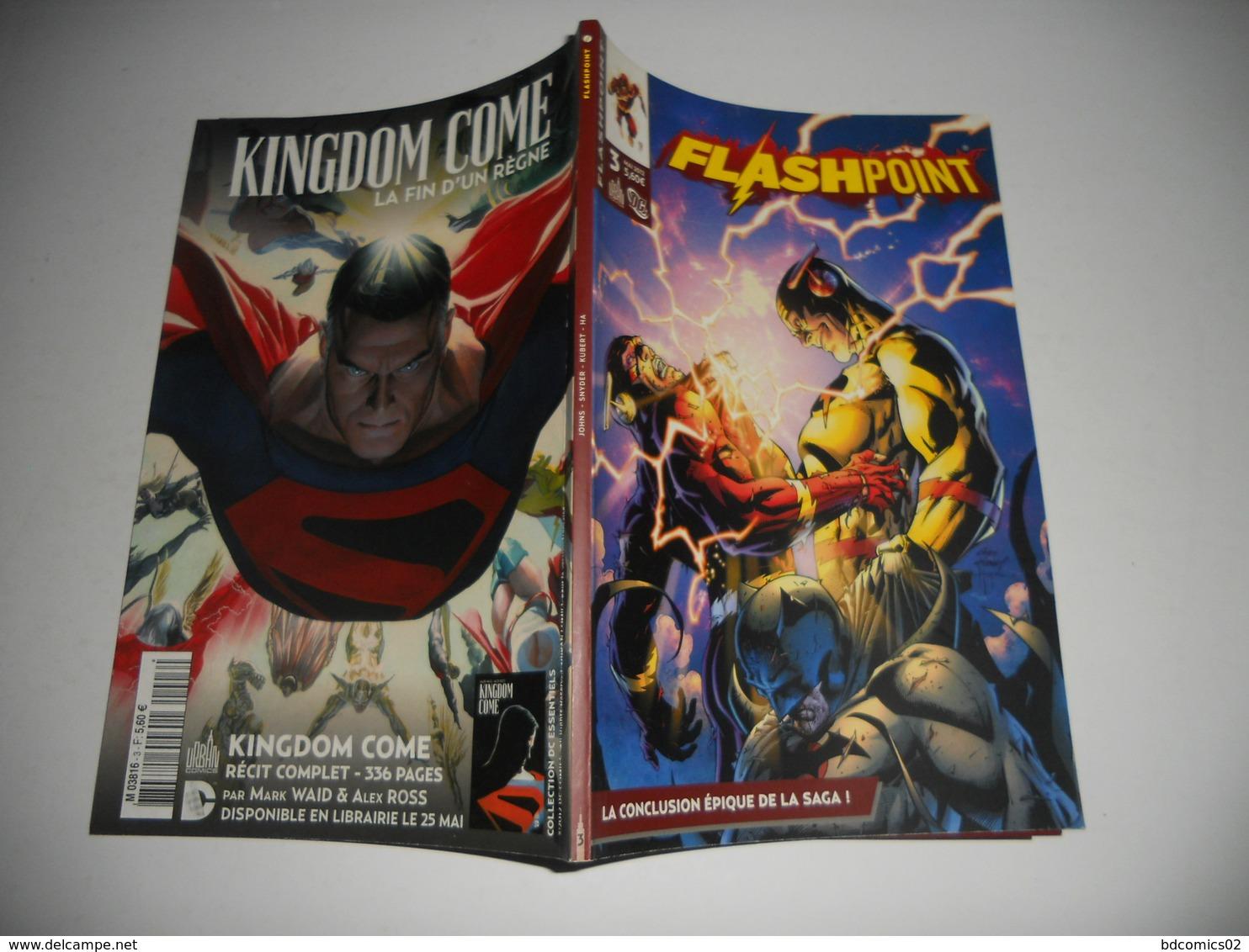 Flashpoint N° 3 - Dc Classiques Tome 3 Flashpoint - Urban Comics Presse TBE - Flash