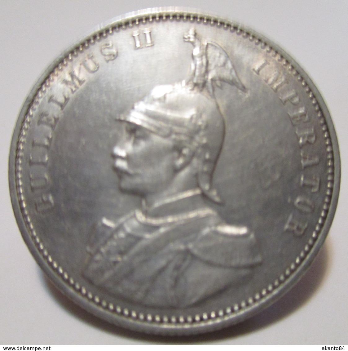 DOA GERMANIA COLONIA 1 RUPIE 1913 J ARGENTO - East Germany Africa