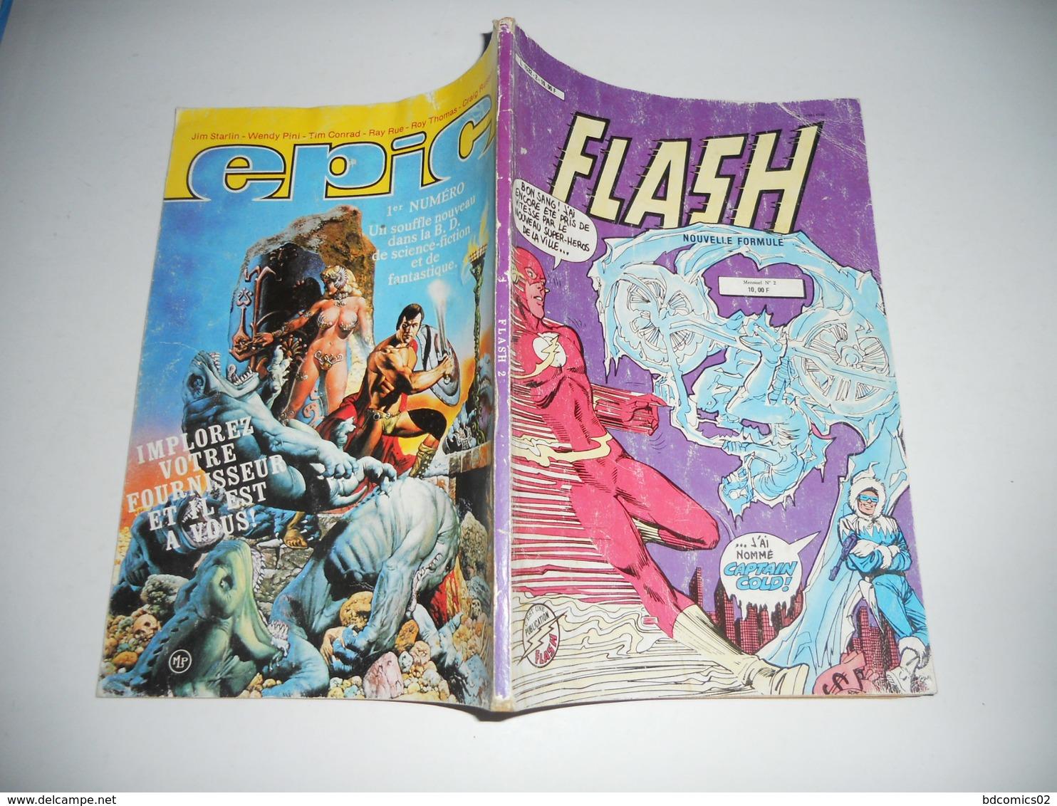 """Flash ( Nouvelle Formule ) N° 2 ( Novembre 1983 ) : """" La Flamme Froide - Flash"""