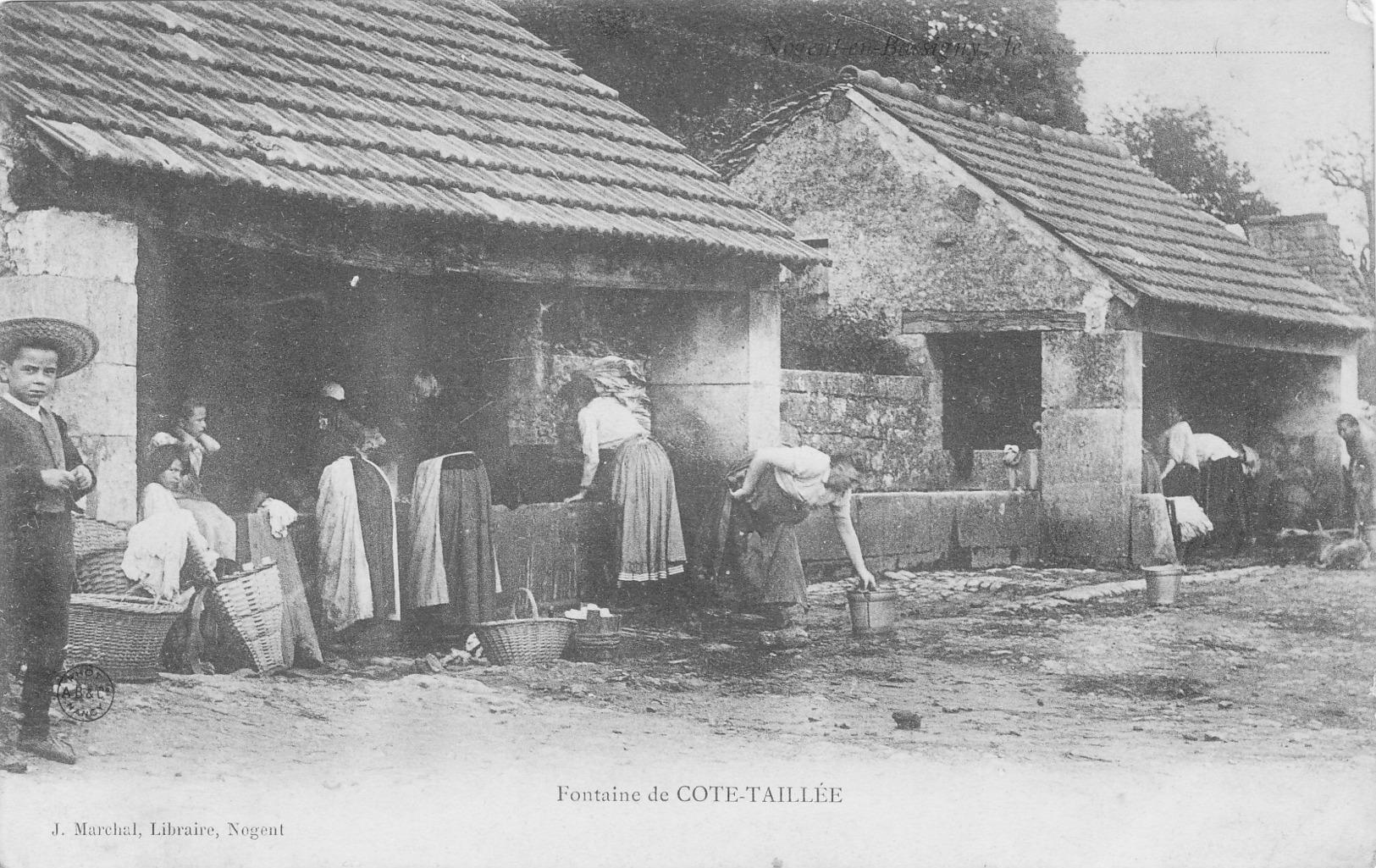 Fontaine De Cote Taillee - Autres Communes