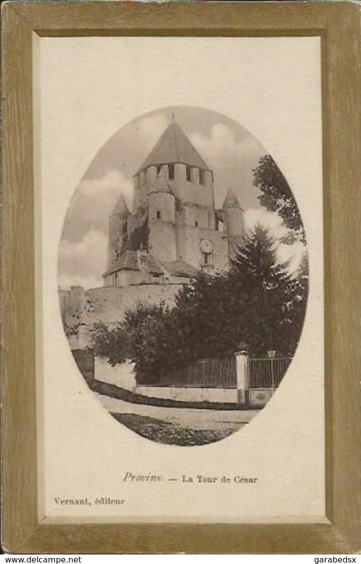 CPA De PROVINS - La Tour De César. - Provins