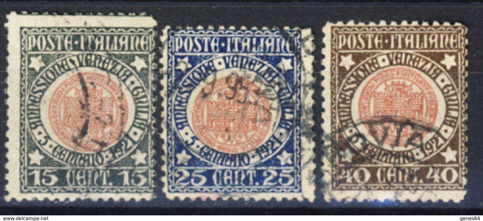 Annessione Della Venezia Giulia - Serie Completa Annullata (di Favore!) - 1900-44 Victor Emmanuel III.