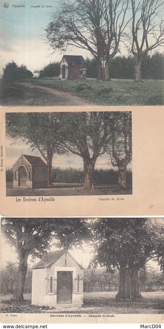 Aywaille:   Lot De 3 Cartes De La Chapelle Saint Roch - Aywaille