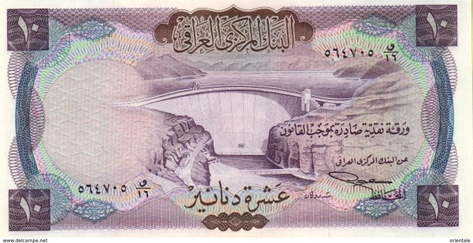 IRAQ P.  60 10 D 1959 UNC - Iraq