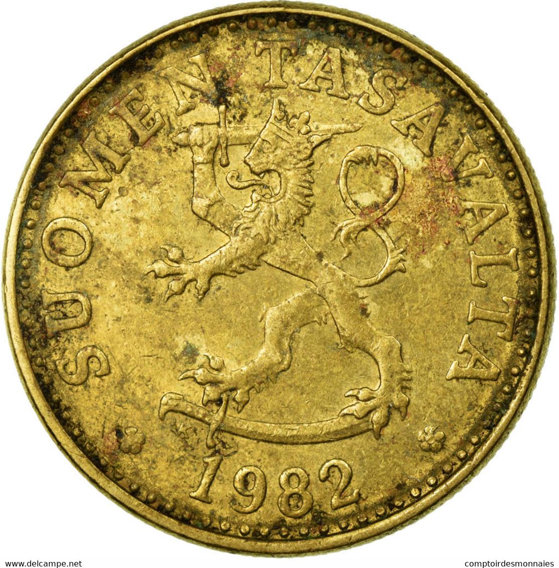 Monnaie, Finlande, 20 Pennia, 1982, TTB, Aluminum-Bronze, KM:47 - Finlande
